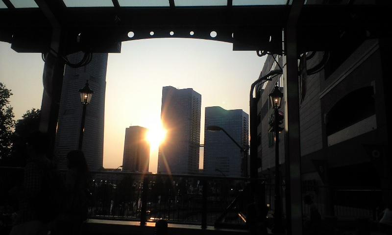 久しぶり横浜