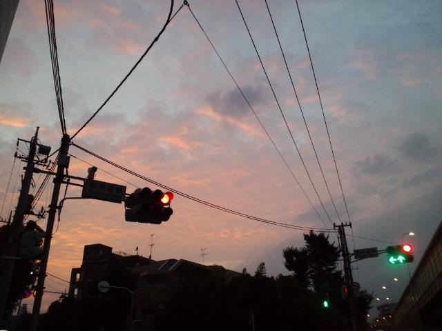 空をよく見る